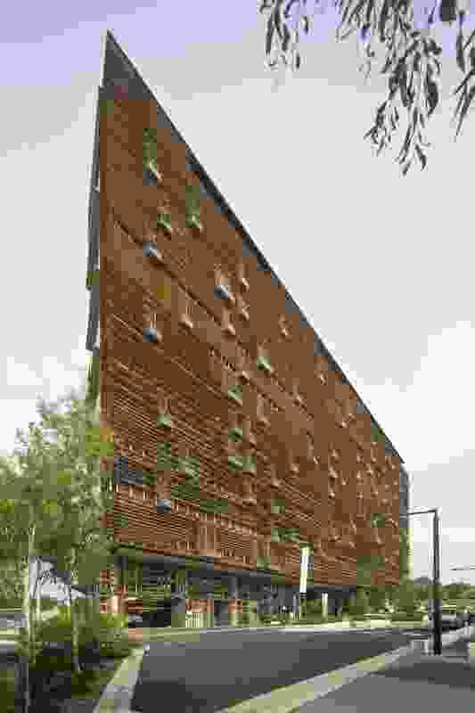 NewActon Nishi by Fender Katsalidis Architects.