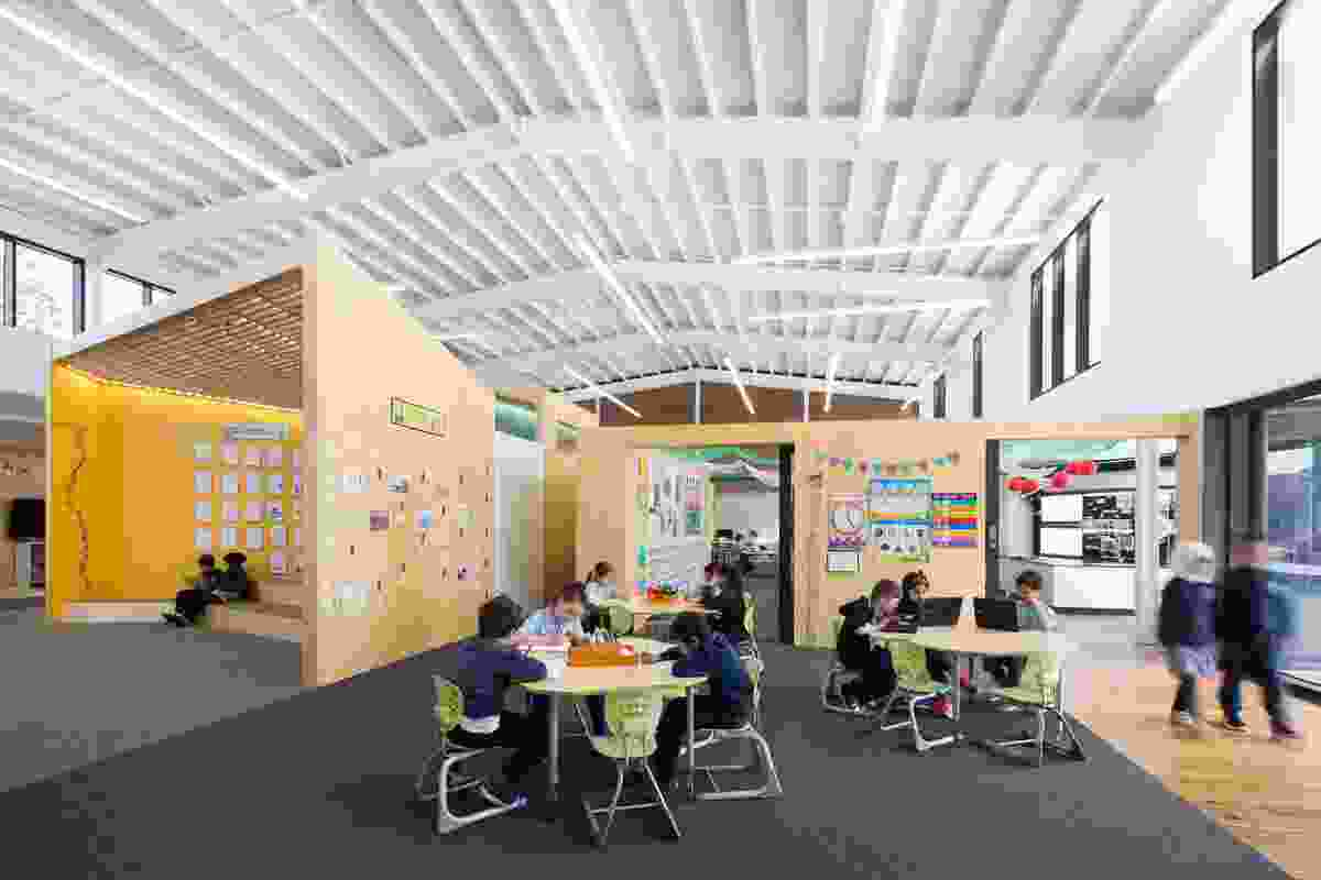 Junior Learning Centre, Dandenong South Primary School designed by Hayball.