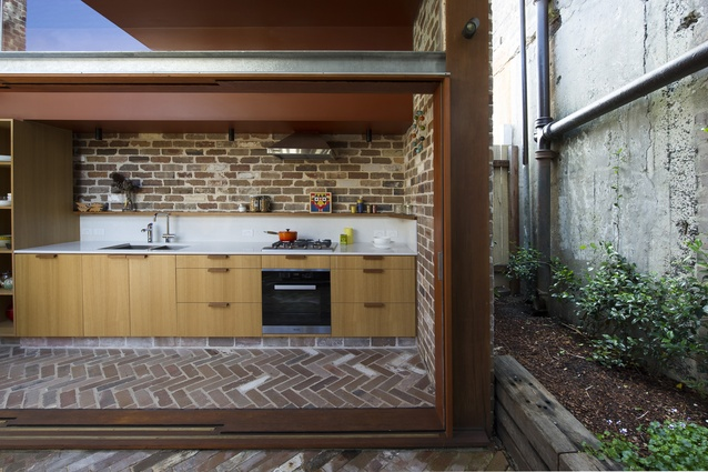 Walter Street Terrace by David Boyle Architect.