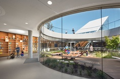 Newly completed Green Square Library and Plaza wins global library award