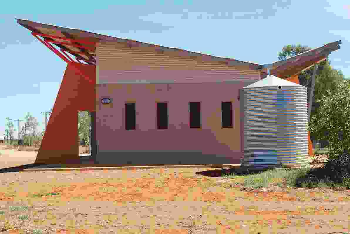The Kiwirrkurra Arts Centre by Tangentyere Design.