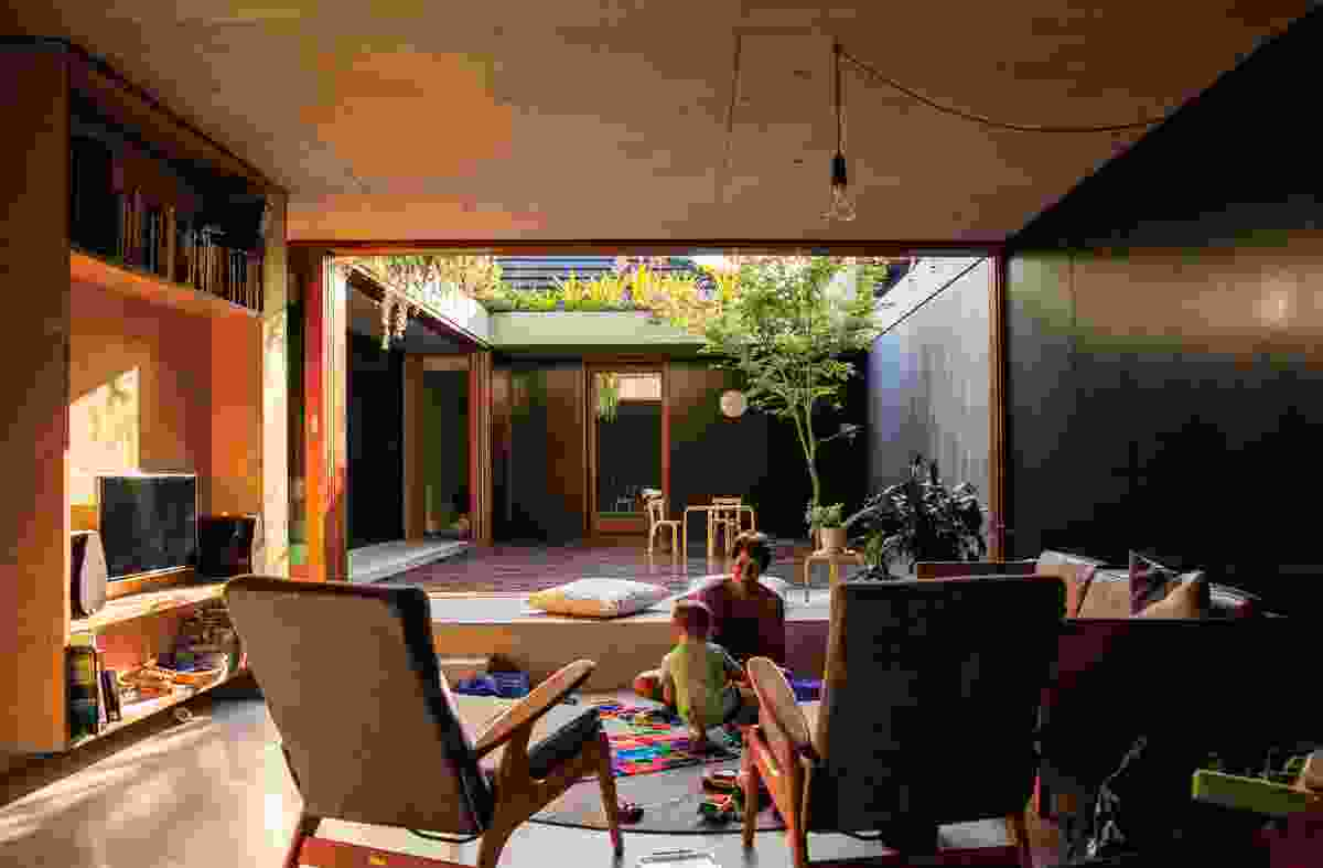 Laneway House by Jon Jacka Architects.