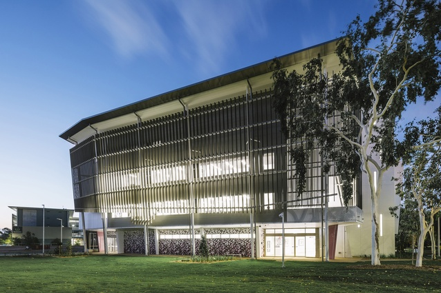 Australian Institute of Tropical Health and Medicine (Townsville), James Cook University by Jackson Architecture.