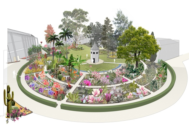 The System Garden Masterplan by Glas Landscape Architects.