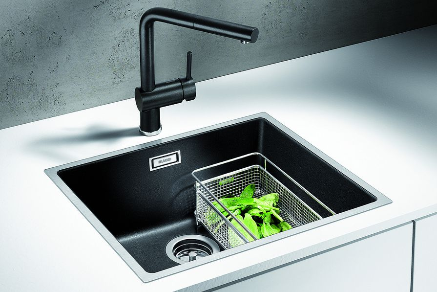 Blanco Subline 500-IF SteelFrame sink.