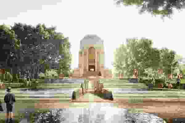 The redevelopment of the Anzac Memorial Hyde Park by JPW and Government Architect NSW.