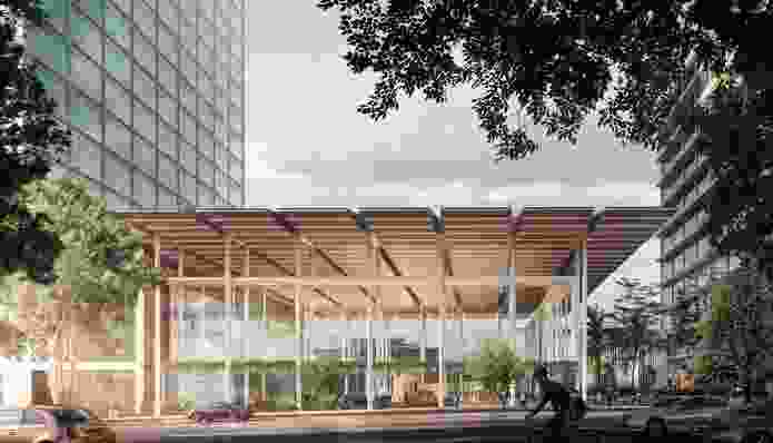 The Cross River Rail project, including the Roma Street station design by Hassell (as part of Pulse consortium), will help to ease road congestion in Brisbane.