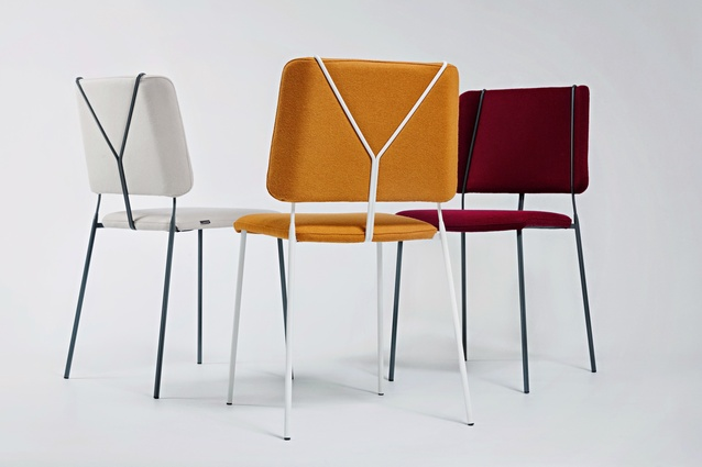 Frankie chairs by Färg & Blanche.