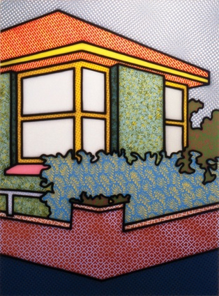 Howard Arkley, Indoors – Outdoors , 1994. Private collection, Melbourne.