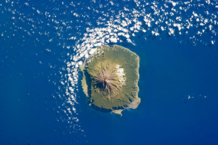The island of Tristan da Cunha.