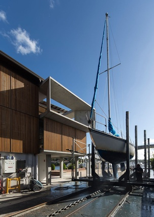Gladesville Bridge Marina by Candalepas Associates.