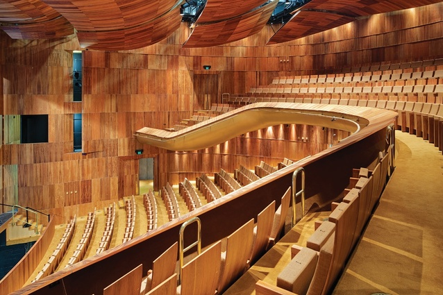 State Theatre Centre of Western Australia by Kerry Hill Architects.