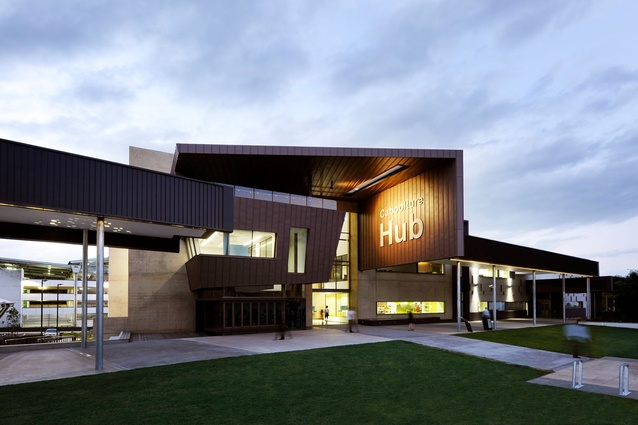 Caboolture Hub by Peddle Thorp and James Cubitt Architects.