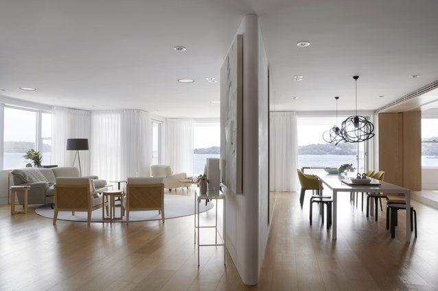 Point Piper Apartment by CO-AP (Architects).