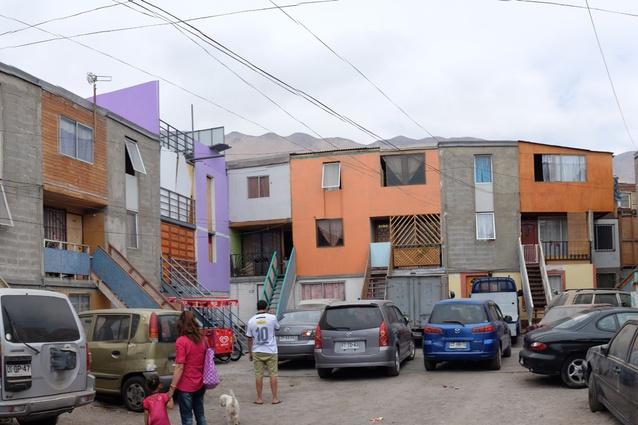 Quinta Monroy, an incremental housing development by Elemental, Chile.