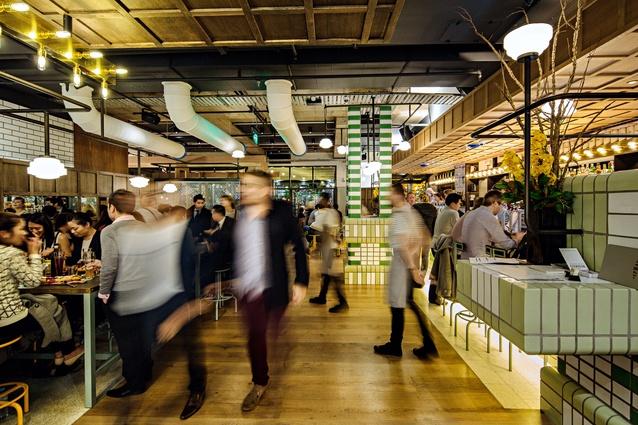 Hophaus Bier Bar (Southbank, Vic) by Maddison Architects