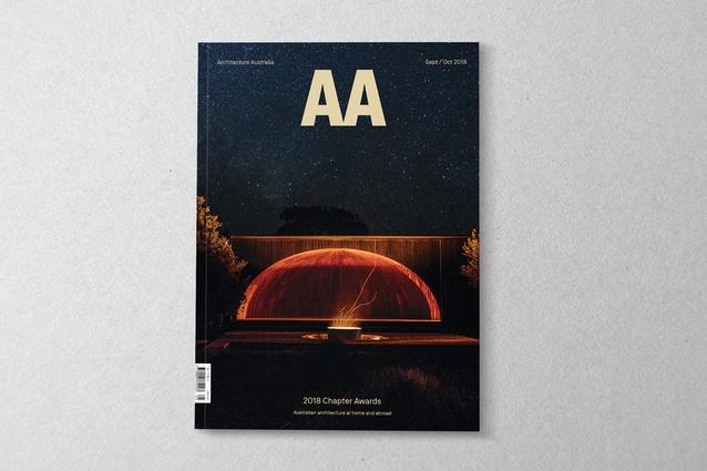 <i>Architecture Australia</i> September/October 2018.
