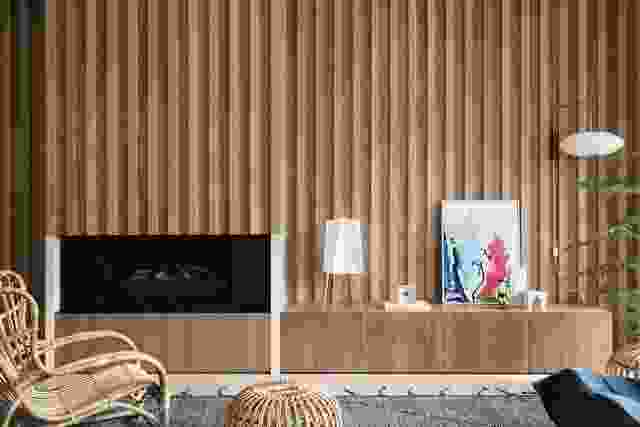 定制细木工显示在菲茨吉本住宅珍贵的财产。