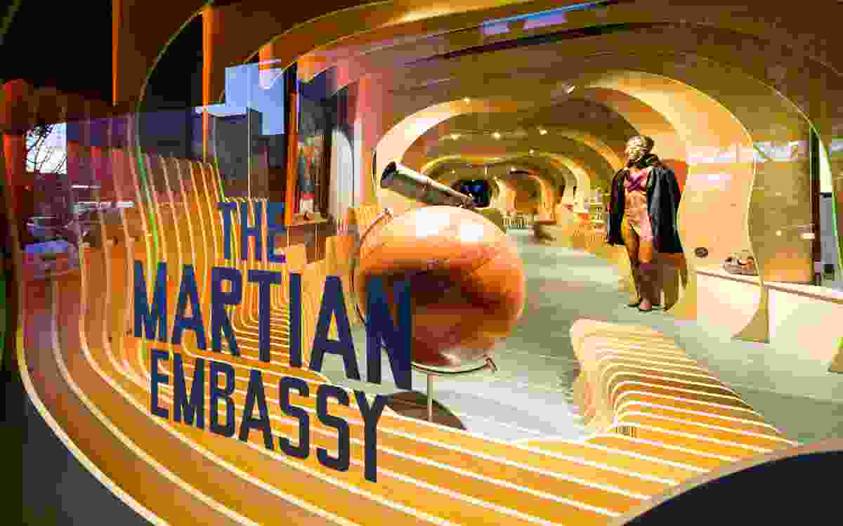 Martian Embassy by LAVA (Laboratory for Visionary Architecture).