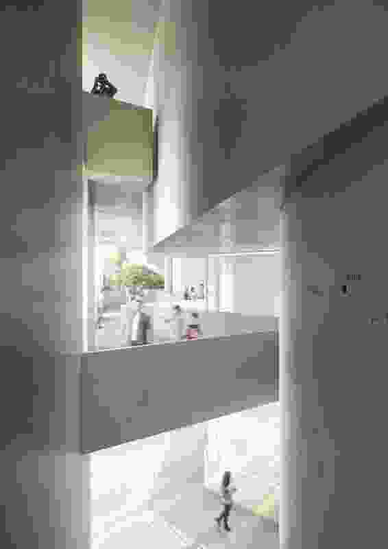Interior of the proposed North West Museum and Art Gallery by Terroir.