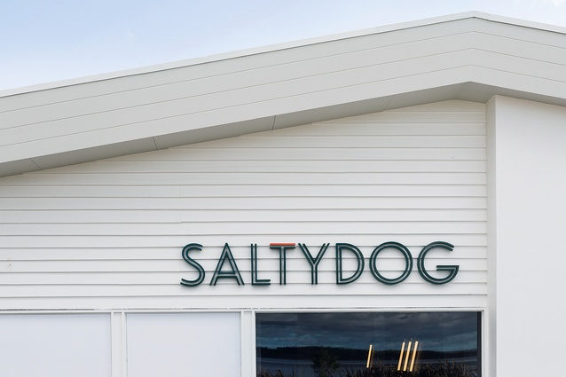 The exterior sign was designed by Siobhan Wilsdon.