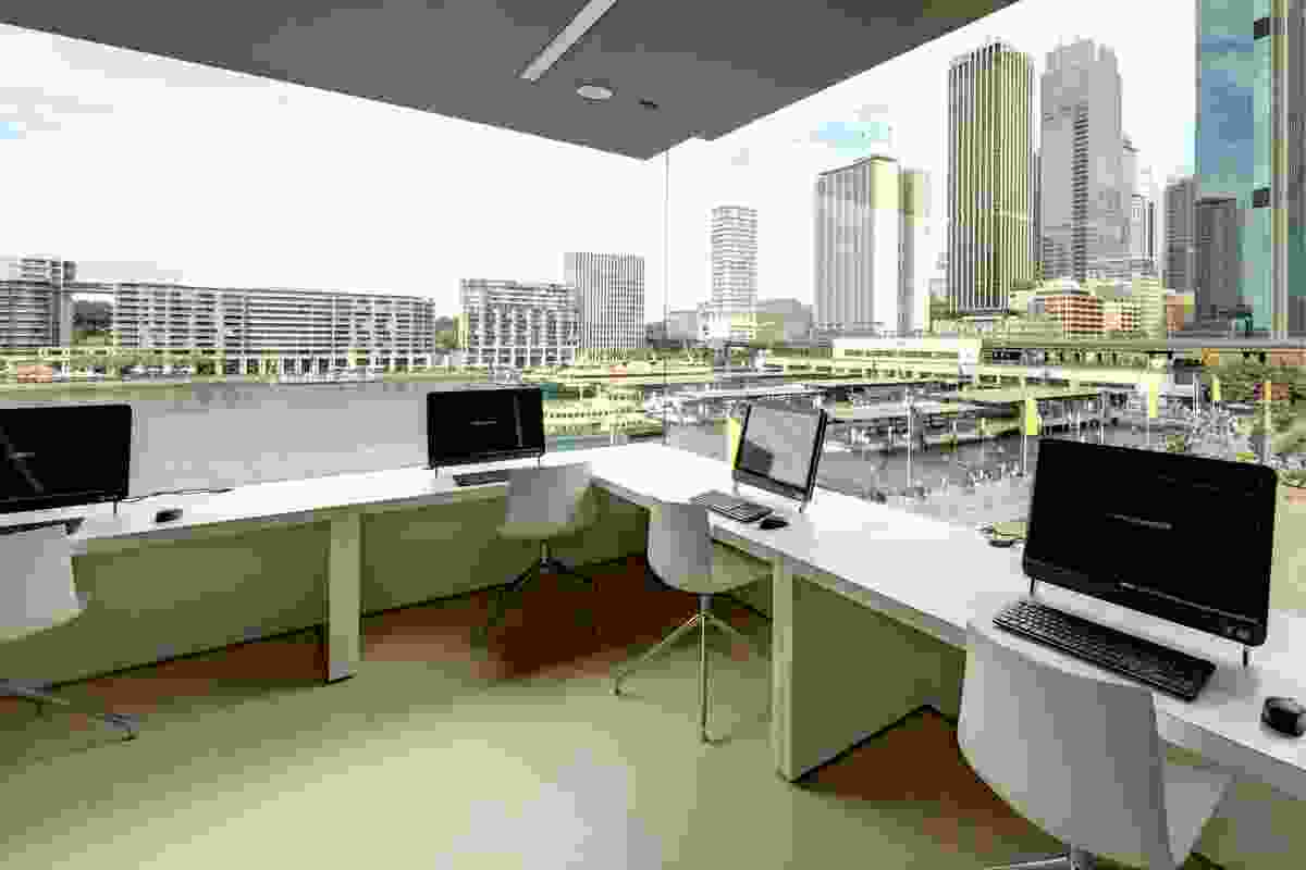 NCCL Digital Studio on level 3 of the museum.