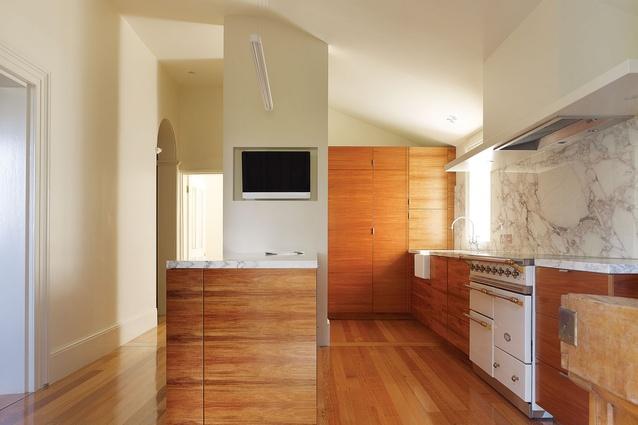 Mount Pleasant's remodelled kitchen.