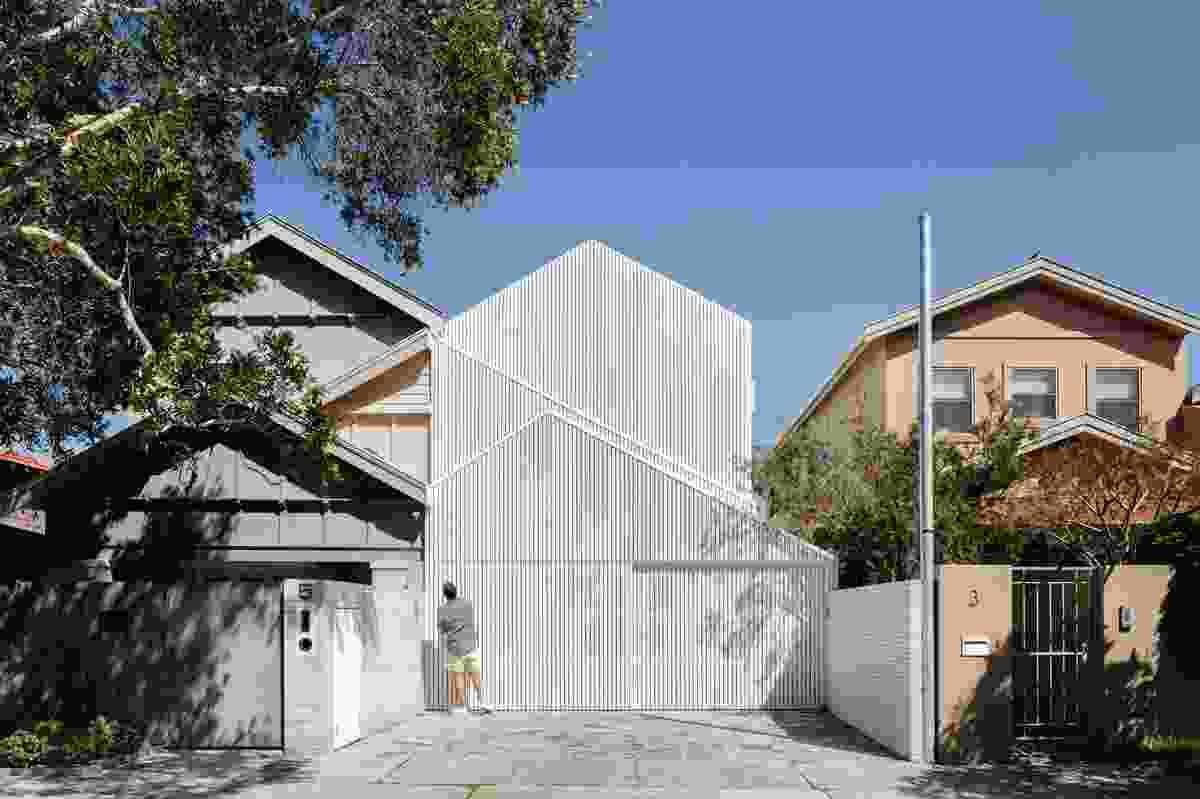 North Bondi House by James Garvan Architecture.