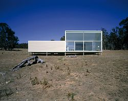 Bombala Farmhouse, NSW, 1998, by Collins and Turner. Photograph Ross Honeysett.