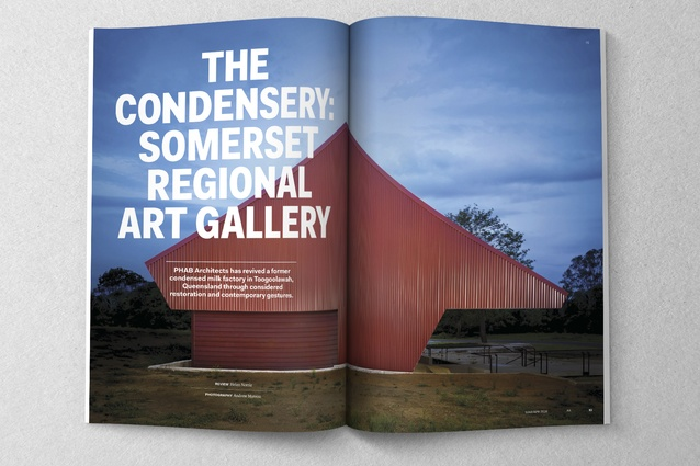 The Condensery: Somerset Regional Art Gallery by 