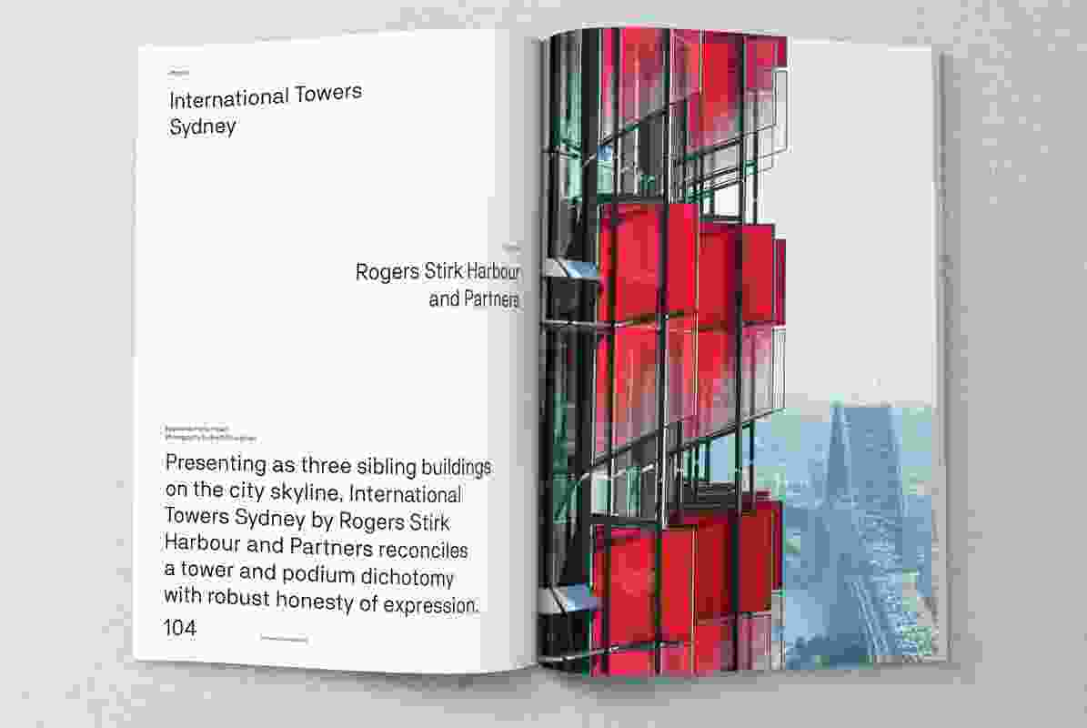 International Towers Sydney designed by Rogers Stirk Harbour and Partners.