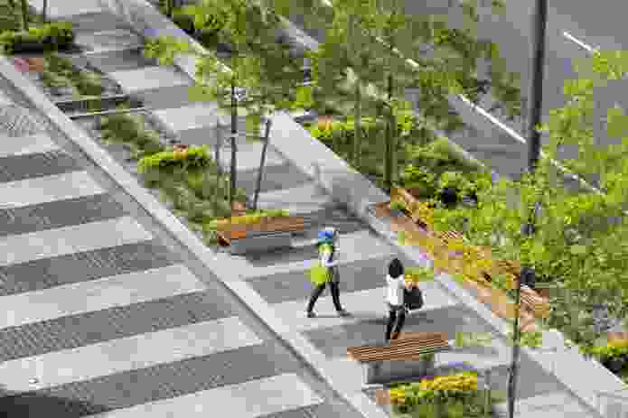 Walter Burley Griffin Award for Urban Design: Revitalising Central Dandenong: Lonsdale Street Redevelopment by BKK/TCL Partnership.