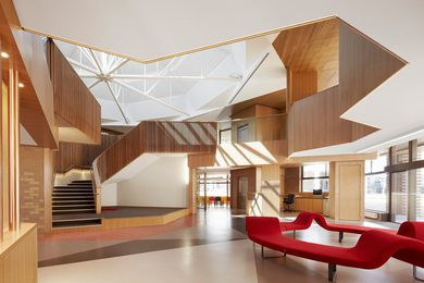 Ormond College Academic Centre by McGlashan Everist.