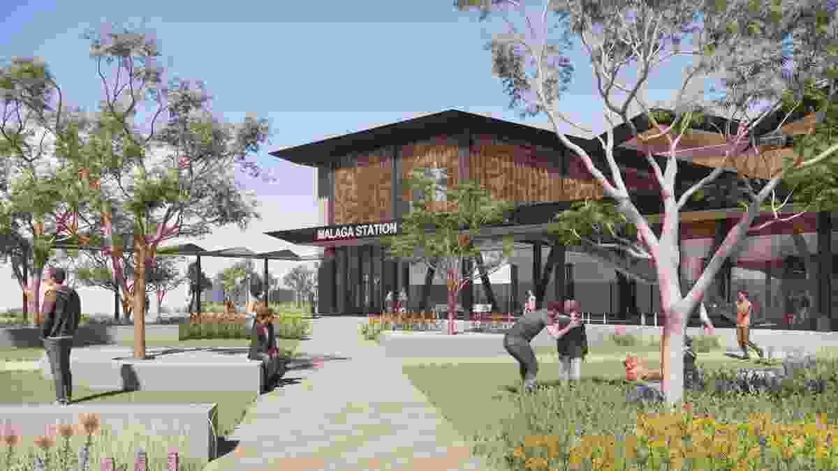 马拉加站设计由伍兹巴托,泰勒罗宾逊Chaney Broderick,TCL和Udla。
