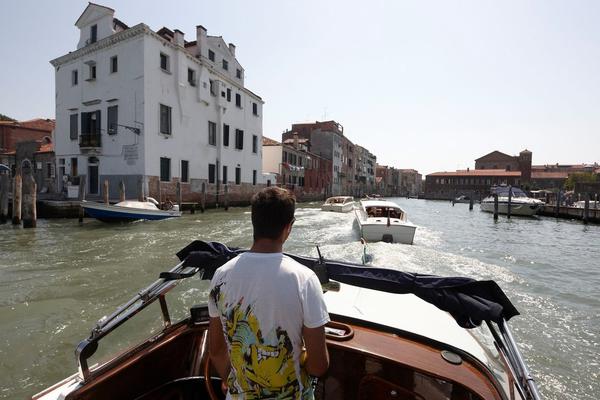 威尼斯的大运河。