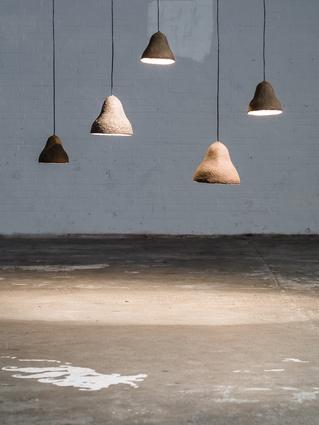 Terroir lamps by Jonas Edvard.