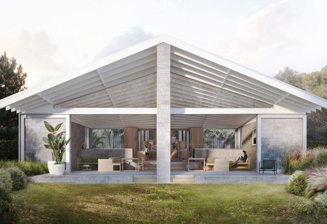 Trias对Half A House的设计态度一直延续到工作室的建筑工作中。