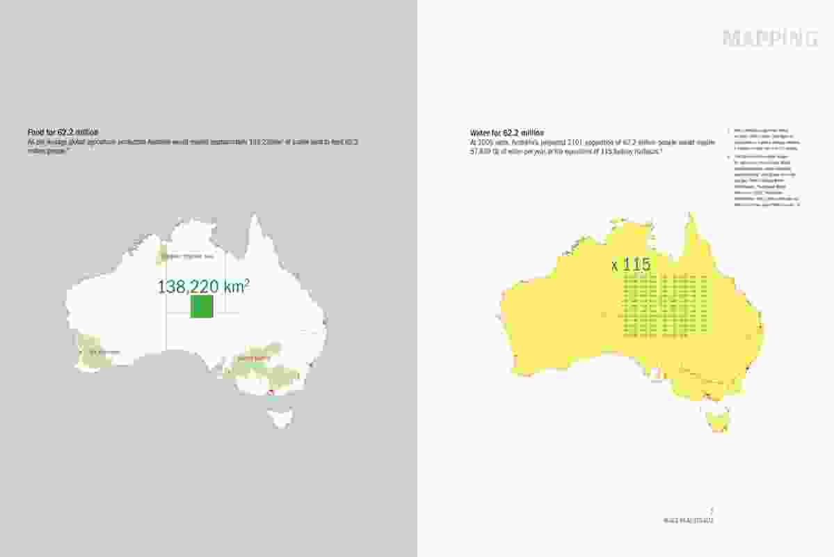 Spread from Made in Australia: The future of Australian cities.