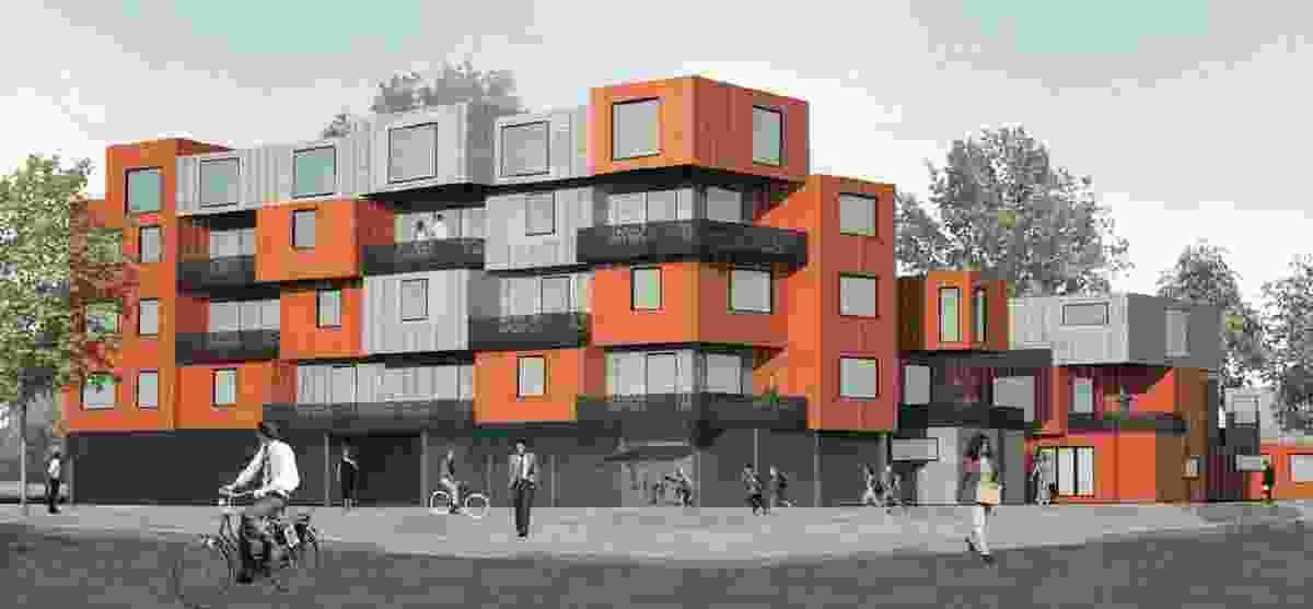 Club Housing by Gunn Dyring Architecture and Urban Design.