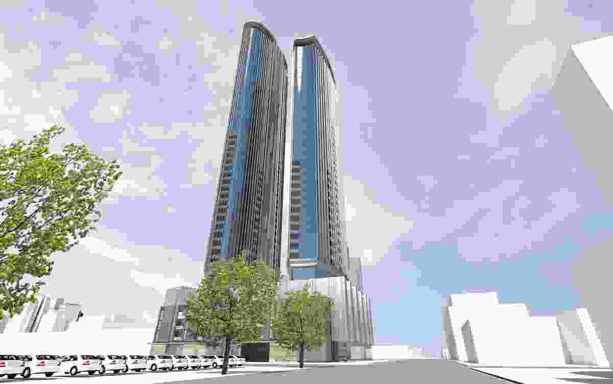 The $130m Normanby Road Rothelowman project that has been approved by planning minister Richard Wynne.