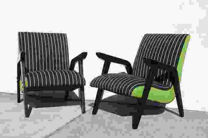 Cross Section chairs.