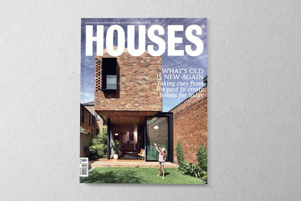 Houses 121. Cover project: North Melbourne Terrace by Matt Gibson Architecture + Design.