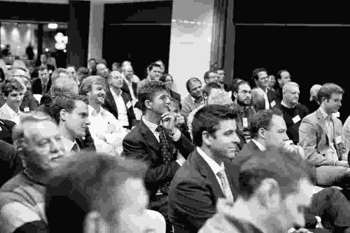 AA Roundtable audience.