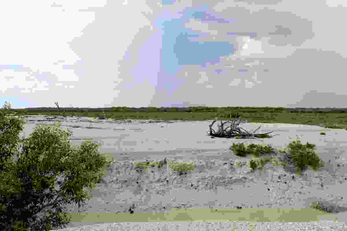 Broome's wet season arriving.