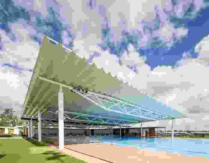 Blackwater Aquatic Centre by Liquid Blu Architects.