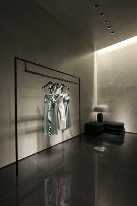 The Giorgio Armani Store in Roppongi Hills celebrates the fashion brand's Italian heritage and the boutique's Tokyo location.