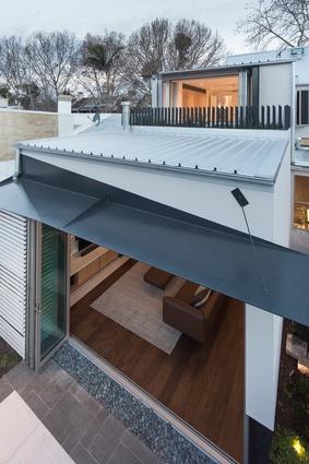 Gandha Kariappa Terrace by Sam Crawford Architects.