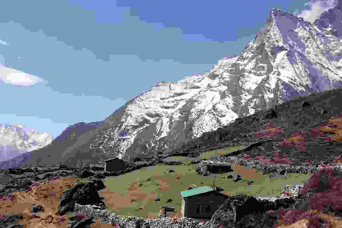Himalayan mountain hut architecture competition.
