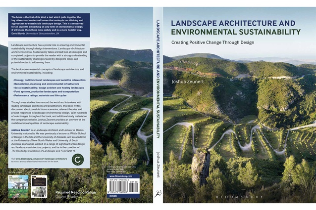 <i>Landscape Architecture and Environmental Sustainability</i> – Joshua Zeunert.