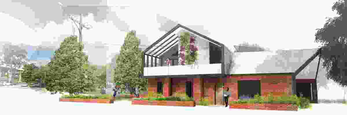 Manor houses runner up: Kieran Ward, graduate architect.